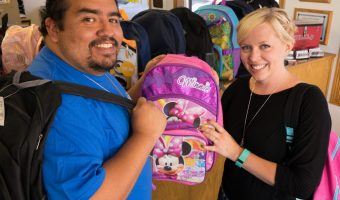 Cars-N-Credit Backpack Donation