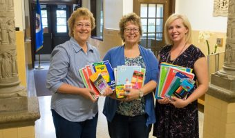 Catholic Daughters School Supplies Donation
