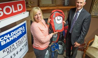 Coldwell Banker Backpack Donation