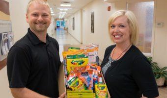 Winona Health School Supplies Donation