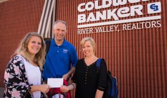 Coldwell Banker Donation Received
