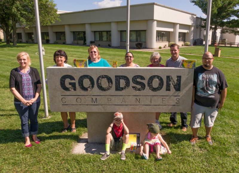 Goodson donation received