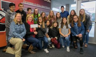 WSHS Student Council Donation Received