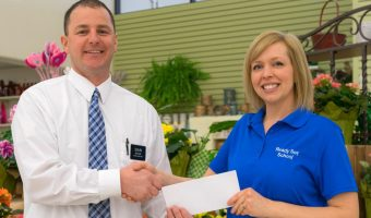 Hy-Vee Donation Received