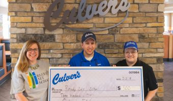 Culver's Donation Received
