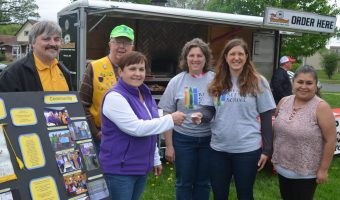 St Charles Lions Donation Received