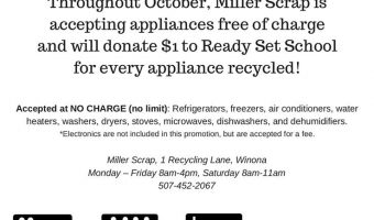 Miller Scrap Free Recycling Event!