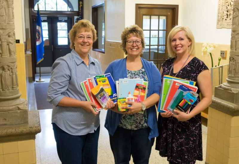 Catholic Daughters School Supplies Donation