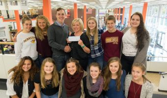 WSHS Student Council Donation Check