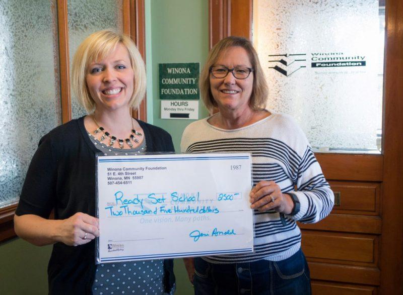 Winona Community Foundation Grant