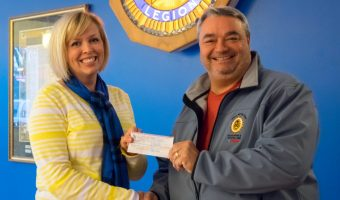 Sons of the American Legion donation