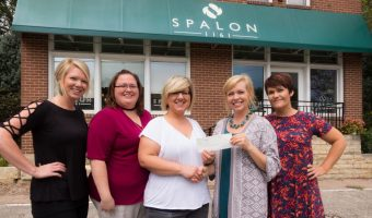 Spalon Donation Received