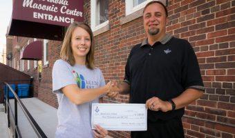 Winona Masonic Center Donation