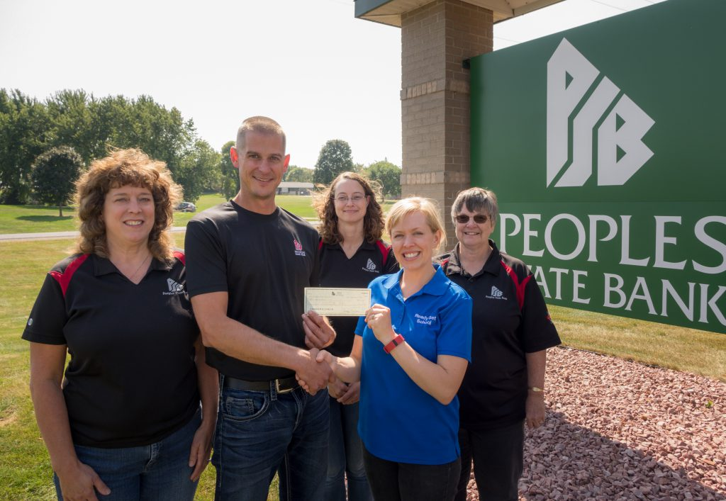 Peoples State Bank Altura Donation Received | Ready Set School
